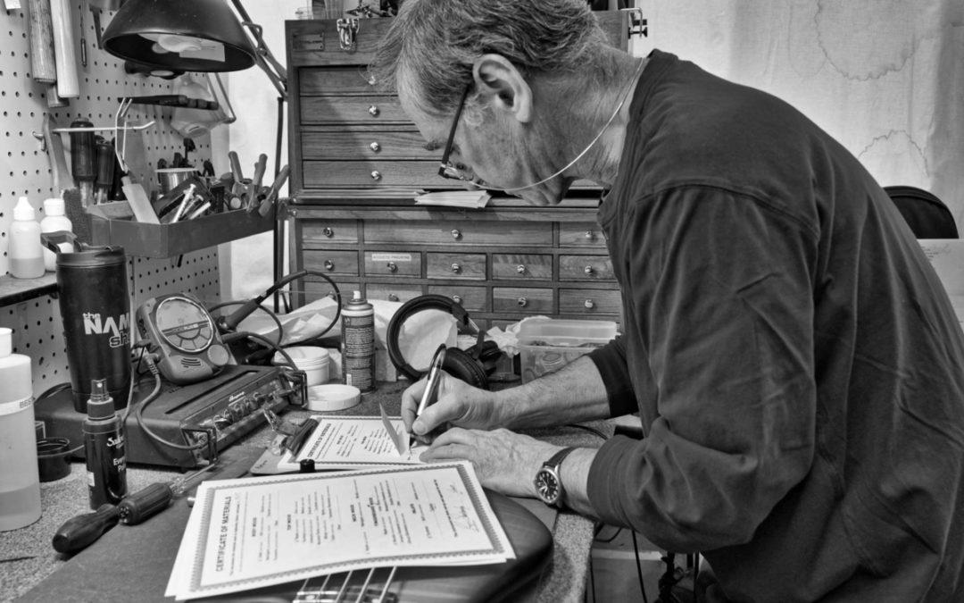 Glen Craig i jego fantastyczne zdjęcia z siedziby warsztatu Sadowsky