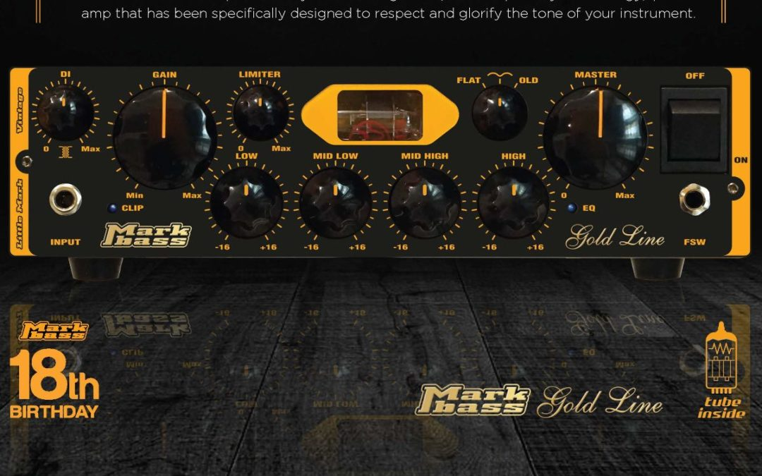Nowy wzmacniacz basowy: Markbass Little Mark Vintage
