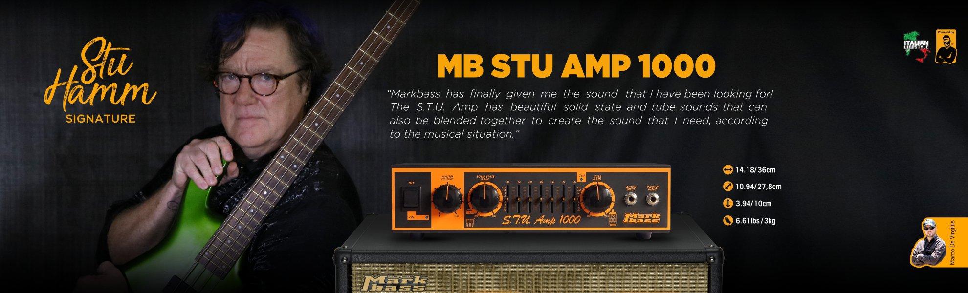 głowa basowa Markbass Stu Hamm Signature