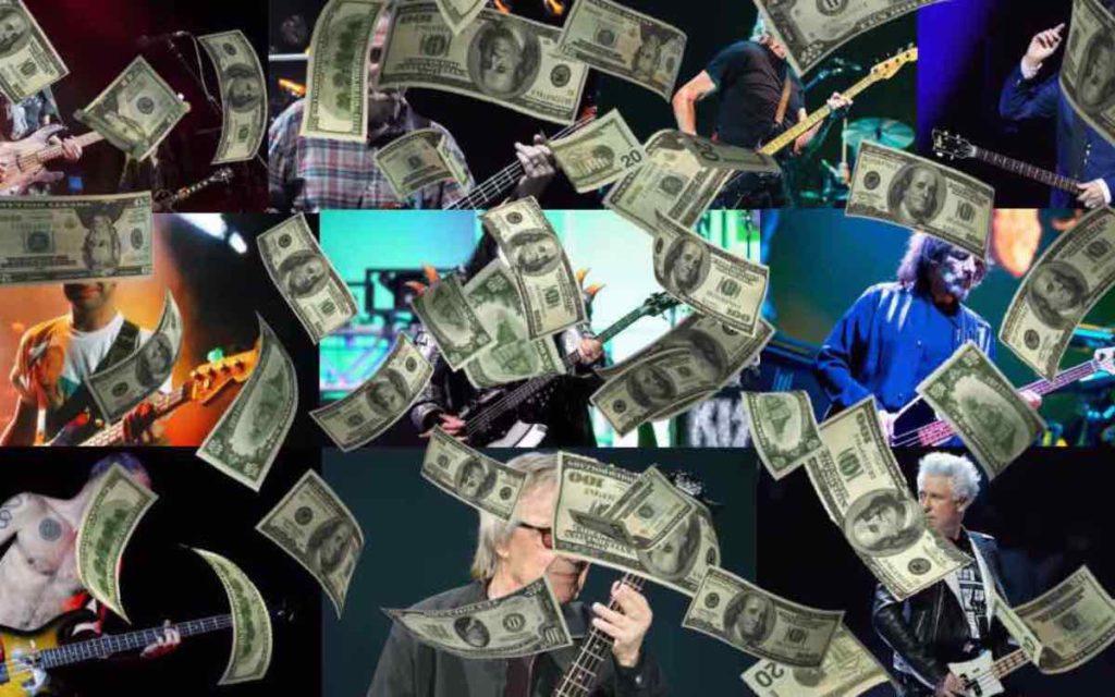 10 najbogatszych basistów świata