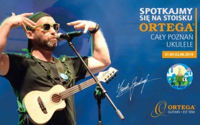 Ortega Guitars na festiwalu Cały Poznań Ukulele