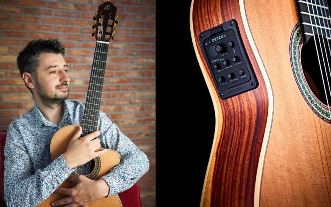 Piotr Słapa artystą Ortega Guitars